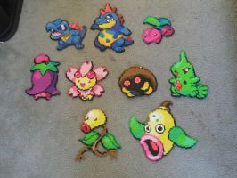 Pokemon Perlers Collection by R3YD1O