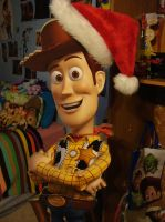 Santa Woody cut out by spidyphan2