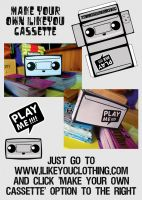 Make Your Own Cassestte Tape by DeathByDesign06