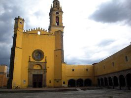 S Gabriel - Cholula, Puebla Mx by patycosplay