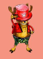 tony-tony chopper by Neo-Omegushka