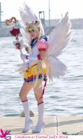 Eternal Sailor Moon linamoon by Yunnale