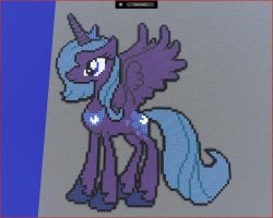Minecraft Luna by HiddenZealot