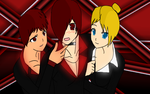 Yagami Team by LillyGamer