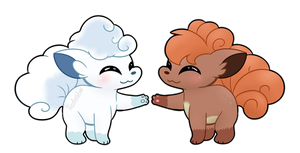 Ice and Fire by Koalacubes