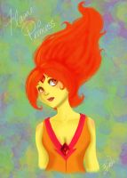 Flame Princess by Komeko