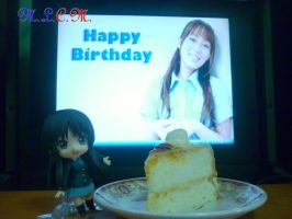 Happy Birthday Yoko Hikasa by mlcm77