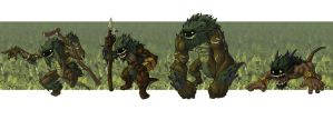 Forest Trolls by Will-E-H