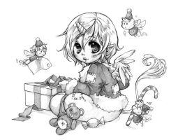 Aeri Christmas Chibi by MaryTaylor