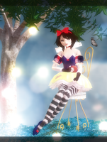 [MMD] Snow White by AlionaLawliet