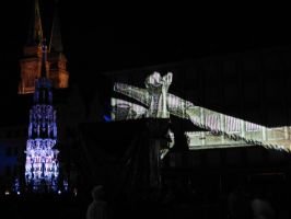 Blue spectacle 2012 in Nuremberg III by andersvolker