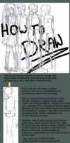 Tutorial How to draw girls by pansheetilo