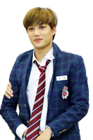 {PNG/Render #123} Kai (EXO) by Larry1042k1