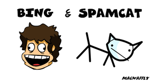 Bing and Spamcat by MacWaffly