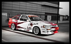 AE86 02 by miki3d