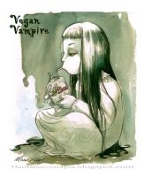 Vegan Vampire by Maese