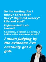 Doctor Who - David's quotes 1 by DarkIfaerie