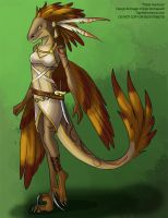 [Character Auction] Tribal Huntress by Ulario