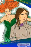 Ivy and Valerie Vale - GOTHAM S3 - LilianettyPR by LilianettyPR