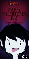 Adventure Time: Marshall Lee Valentine's Day by Mordecai-Fan
