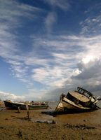 Dead Boat in Colour by Andrew-and-Seven