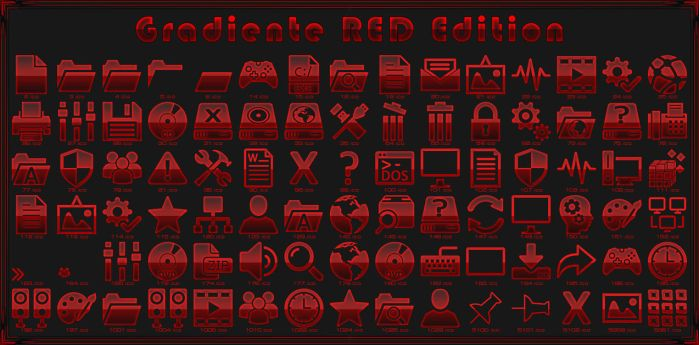iPack Gradiente RED Edition by Agelyk by Agelyk