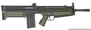 Bullpup G3 by Robbe25