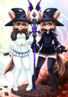 Tera online - Two faces of a priest by Barbariank