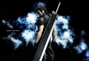 [Crisis Core-Final Fantasy VII]Zack Fair wallpaper by yoanribeiro
