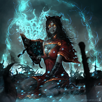 Blood Mage by dekades8