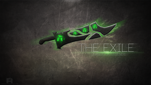 LoL - The Exile Wallpaper by xRazerxD