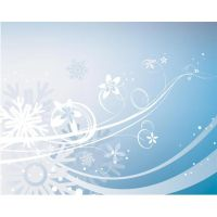 blue Background with lines and lighting vector art by cgvector