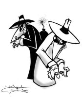Spy vs Spy Bust by DaveIgo