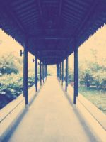 Old style walkway photo by Laura-in-china