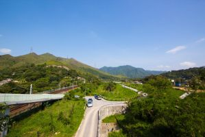 Tai Wo Service Road (E) by PeterShek