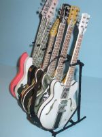 my paper guitar collection by SusHi182