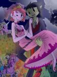 The wedding of Gumball and Marshall Lee by tejedora