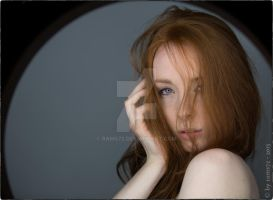 Portrait Red Haired by rams72