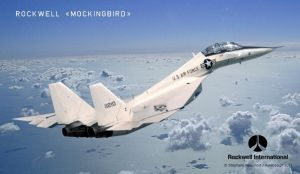 Rockwell F-X Mockingbird by Bispro