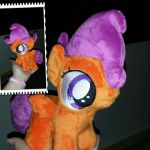 MLP 7 inch filly Scootaloo -- BronyCon 2015 by RubioWolf