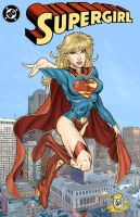 SuperGirl Commission by wayner8088