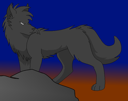 Tsal the wolf by Rodef-Shalom
