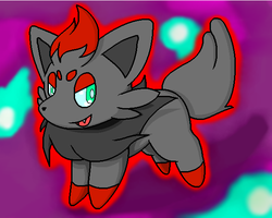 Zorua Zorua Zora by Inika-Hero