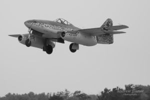 Messerschmitt Me 262 by AEisnor