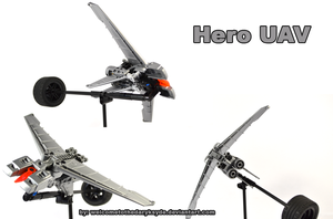 Hero UAV by welcometothedarksyde