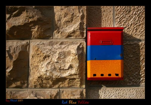Red Blue Yellow by Aderet