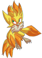 Sonic OC: sly little flicky by MechaSvitch