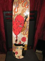 Devil skateboard by brolicdesigns