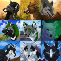 Icon Batch: 7 by InstantCoyote