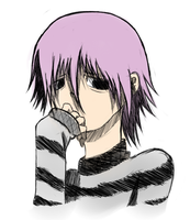 Crona from Soul Eater colored by Gochure